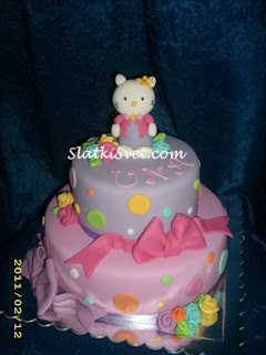 Torta Hello Kitty maca