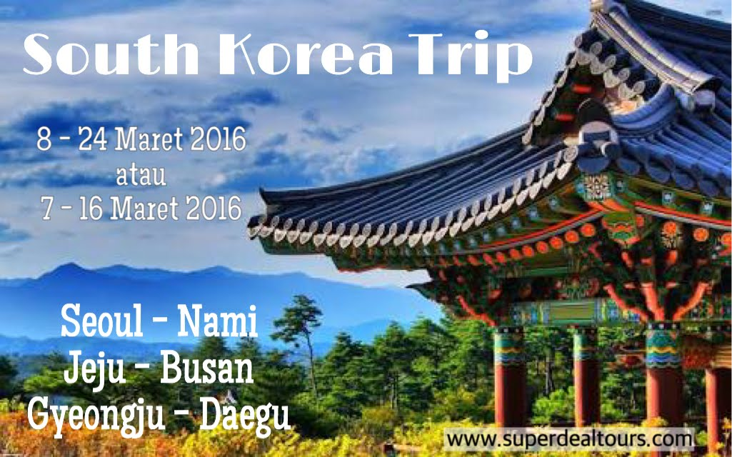 South Korea 8-25 Maret 2016