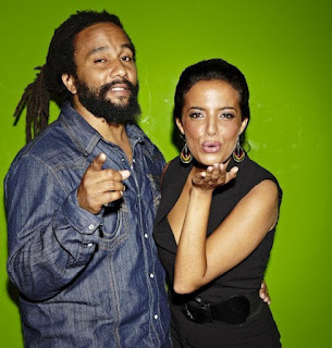Ky-Mani Marley and Ilhame Paris