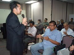 KURSUS ASAS &amp; APLIKASI HYPNOSIS (13-2-2011)