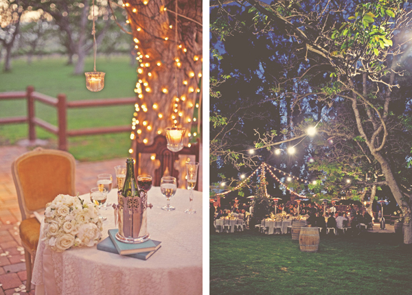 Fairy Lights Outdoor Weddings :  Inspired Weddings  BridalTweet Wedding Forum & Vendor Directory