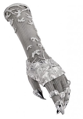 Jeweller Shaun Leane And White Gold Diamond Glove By Daphne Guinness Seen On www.coolpicturegallery.us