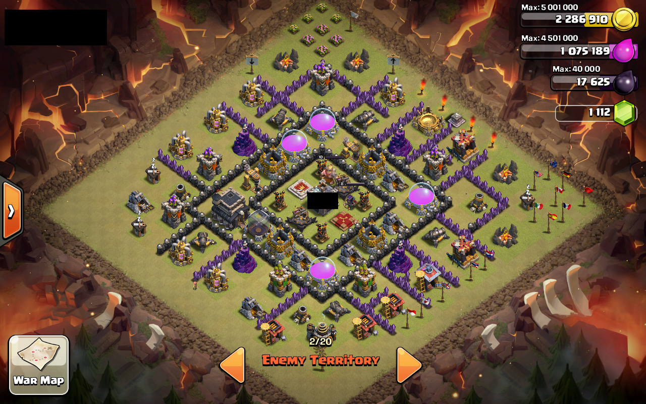 Coc best war th 7 layout search results web design