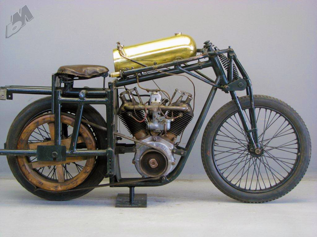 motorcycles Vintage two cylinder