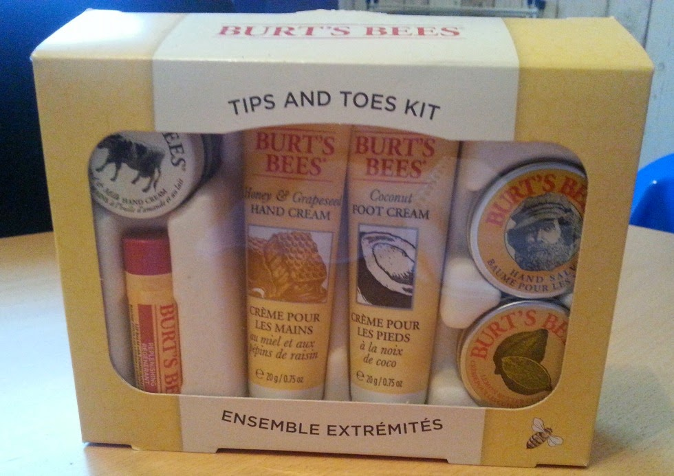 Burts Bees Tips To Toes Gift Set