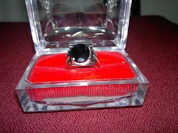 Cincin Batu Serai Hitam - Very Rare - RM480