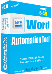Download Word Automation software