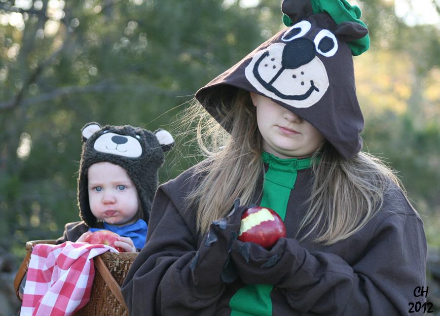 Yogi And Boo Boo Halloween Costumes | Feath And Kee Halloween Is Here