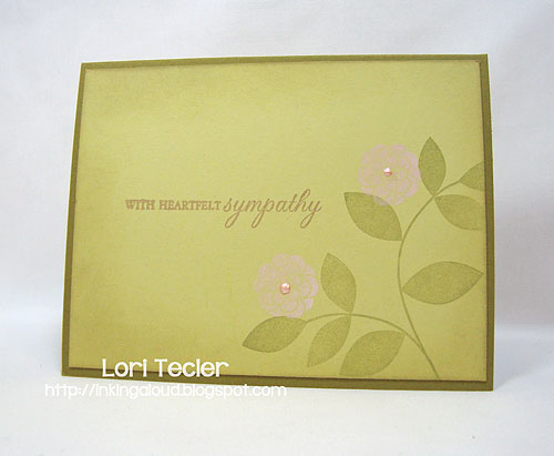 With Heartfelt Sympathy-designed by Lori Tecler-stamps from Papertrey Ink