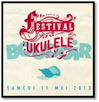 Festival de Ukulélé boudoir, La Bellevilloise rue Boyer Paris 20 guitare hawaienne Bob Brozman Julien Doré