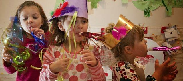 fiesta infantil de Nochevieja