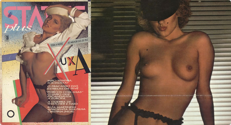 Revista Status Plus – Xuxa 1981