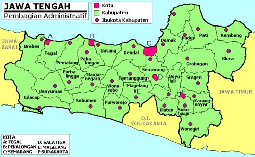 Peta Jalur Mudik Lebaran 2011