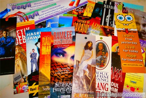 Penanda buku, corak penanda buku, bookmark design, rekabentuk penanda buku