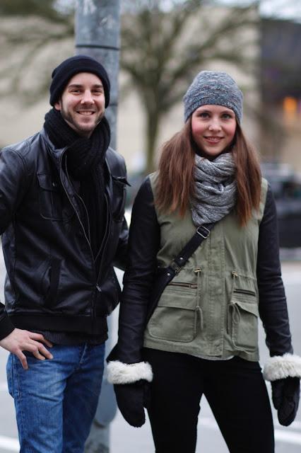 Matthew Moore Josefina Hellensberg Leather sleeves seattle street style fashion it's my darlin'