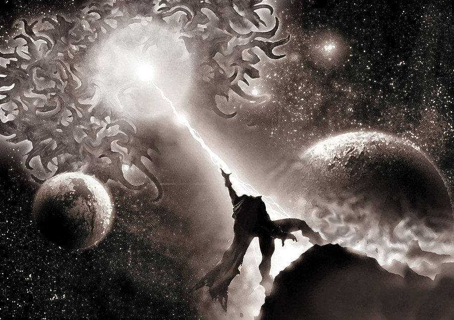 Azathoth Vs Cthulhu Stuff- Zalgo VS Azathoth