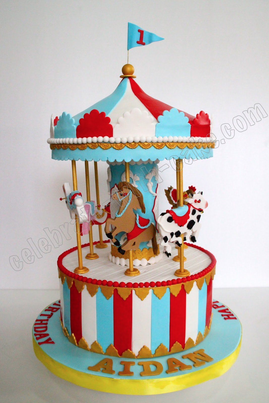 Carousel Cake Topper Singapore