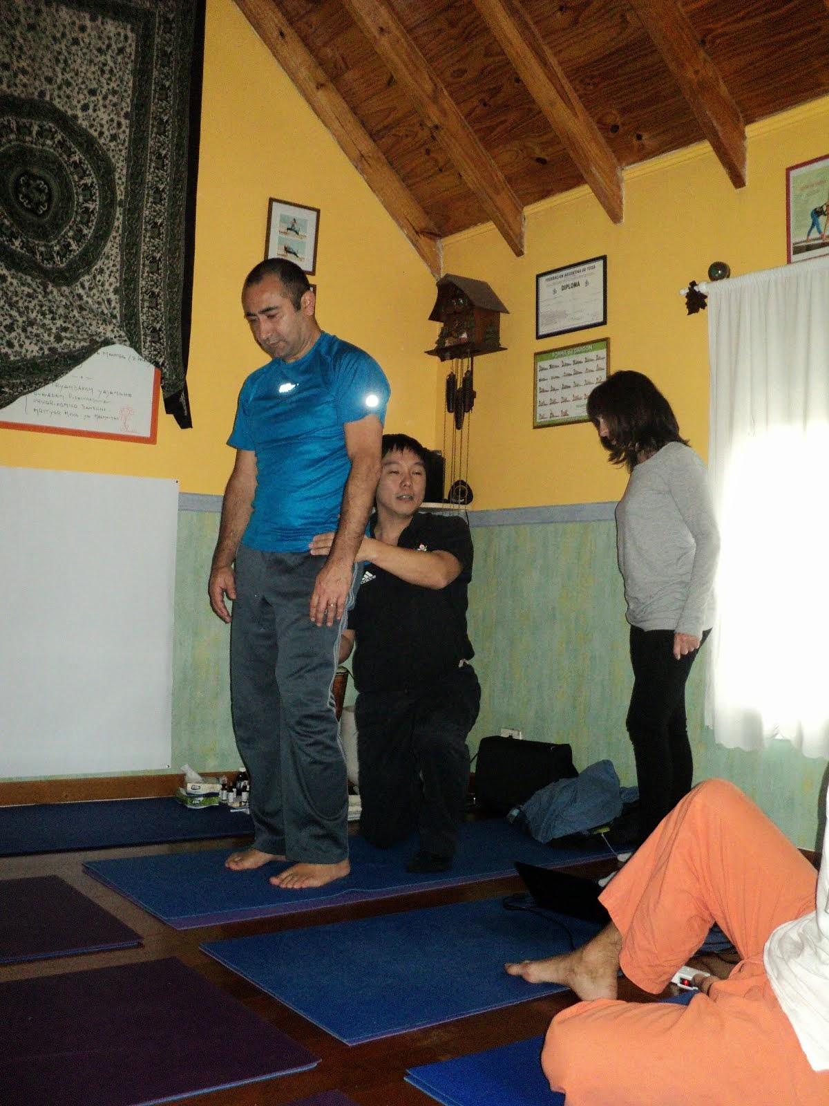 Yogaterapia - Columna Vertebral