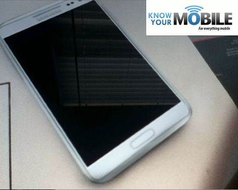 Samsung Galaxy Note II leaked