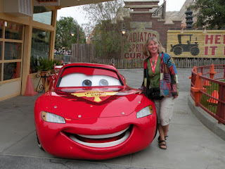 Disney's Cars Land. Photograph by Janie Robinson, Travel Writer