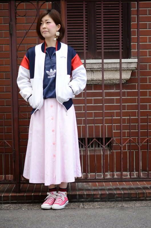 スカートの色にもこだわりを♡