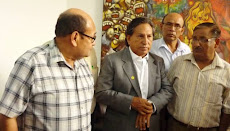 Visita de  ex presidente Toledo a la UNP