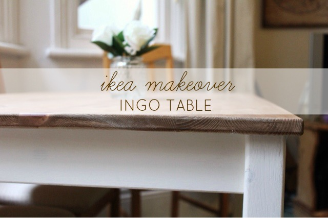 ikea 39 ingo 39 table makeover everything 39 s rosie brighton