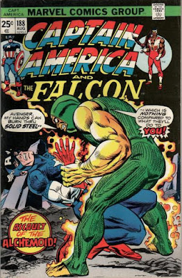 Captain America and the Falcon #188