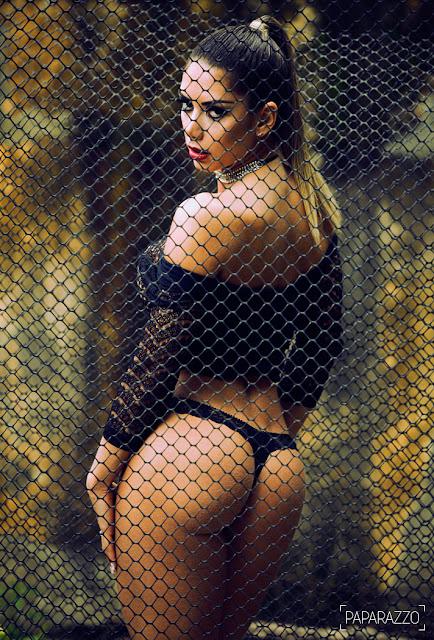 Fotos de Graciela Carvalho pelada em ensaio sensual para o Paparazzo