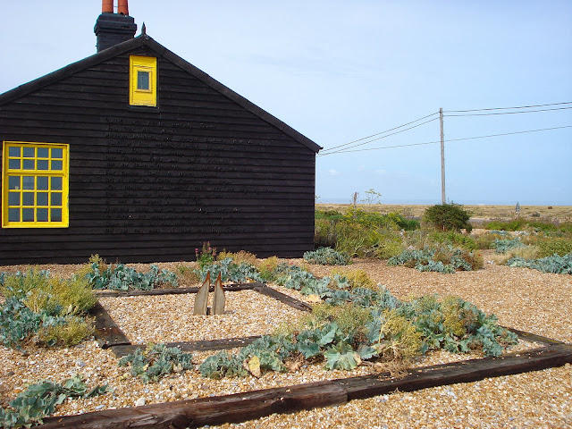 The poem on Derek Jarman's house