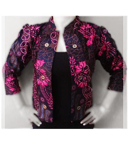 Terbaru model baju batik resmi wanita penuh warna