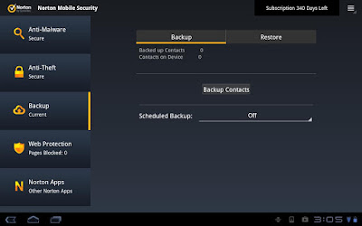 Antivirus Android Terbaik - Norton Mobile Security