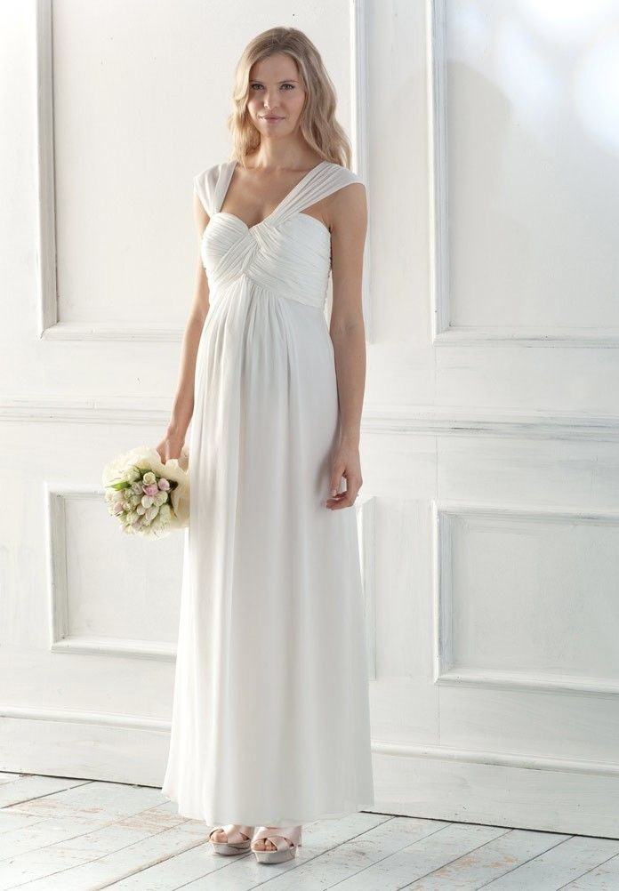 beautiful maternity wedding dresses