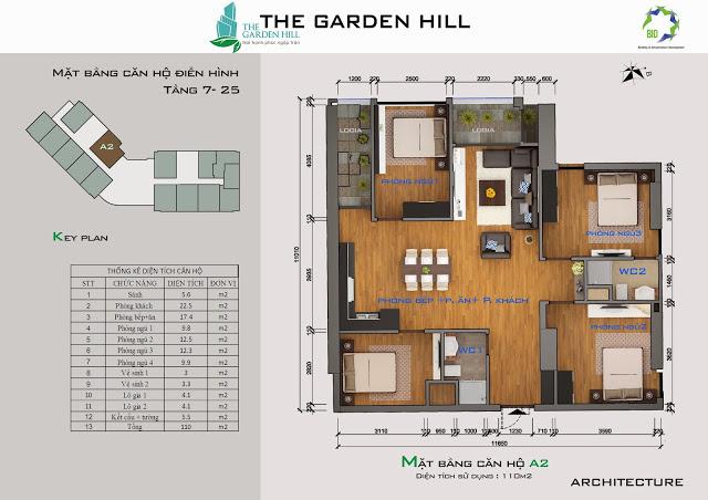 căn a2 chung cư the garden hill