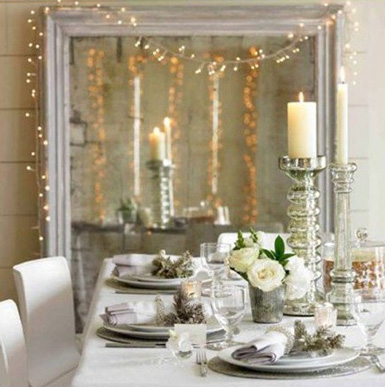 belle maison: Christmas Decorating Theme: Natural Wonderland