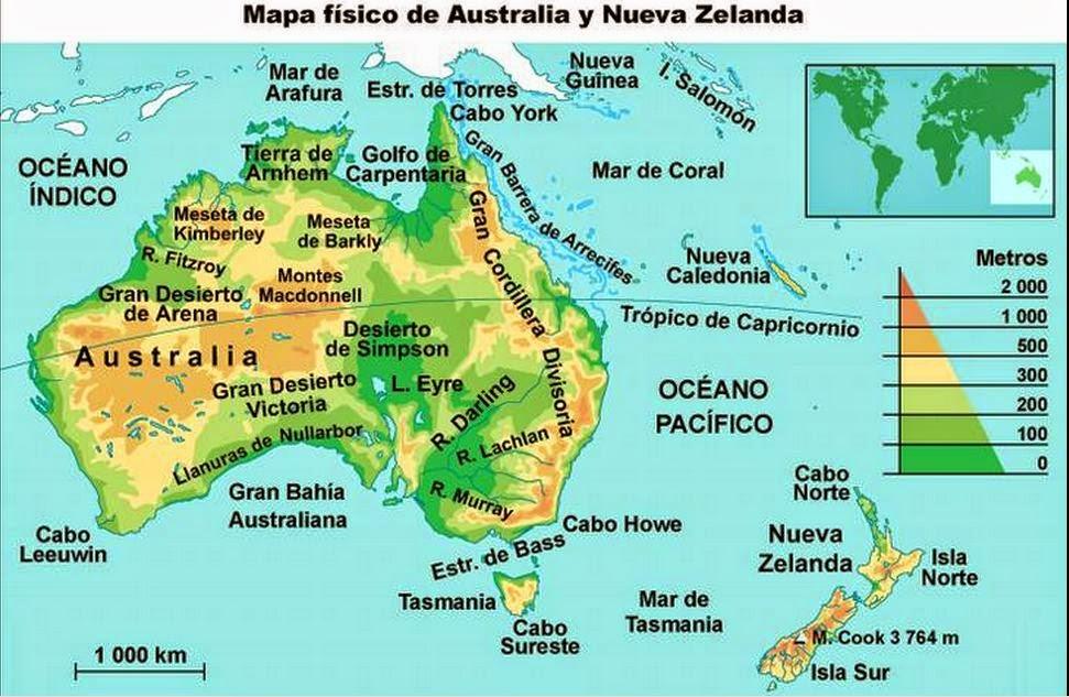 Islas De Asia Mapa