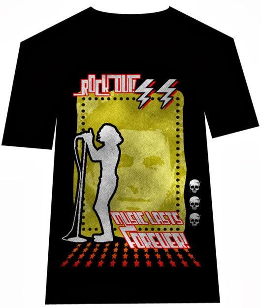 Rock T-Shirt Design