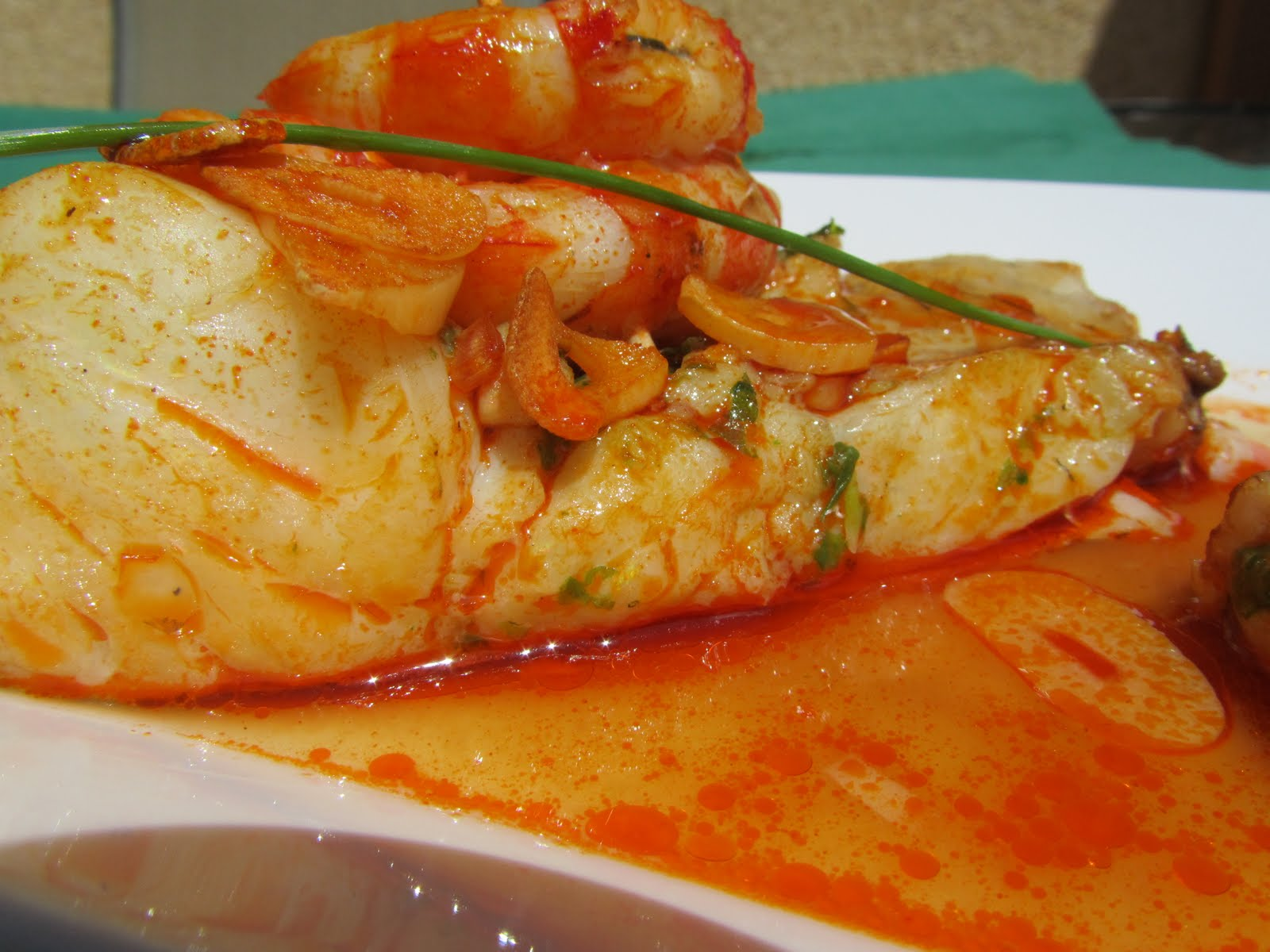 Merluza a la vasca for Cocina tradicional