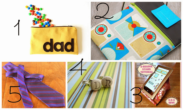 Five Fantastic Father's Day Gifts to Sew-