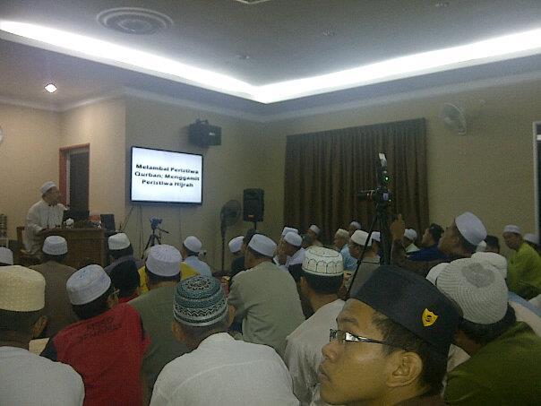 Ustaz Hishamuddin Abdul Aziz di Madrasah Ibnu Mas'ud