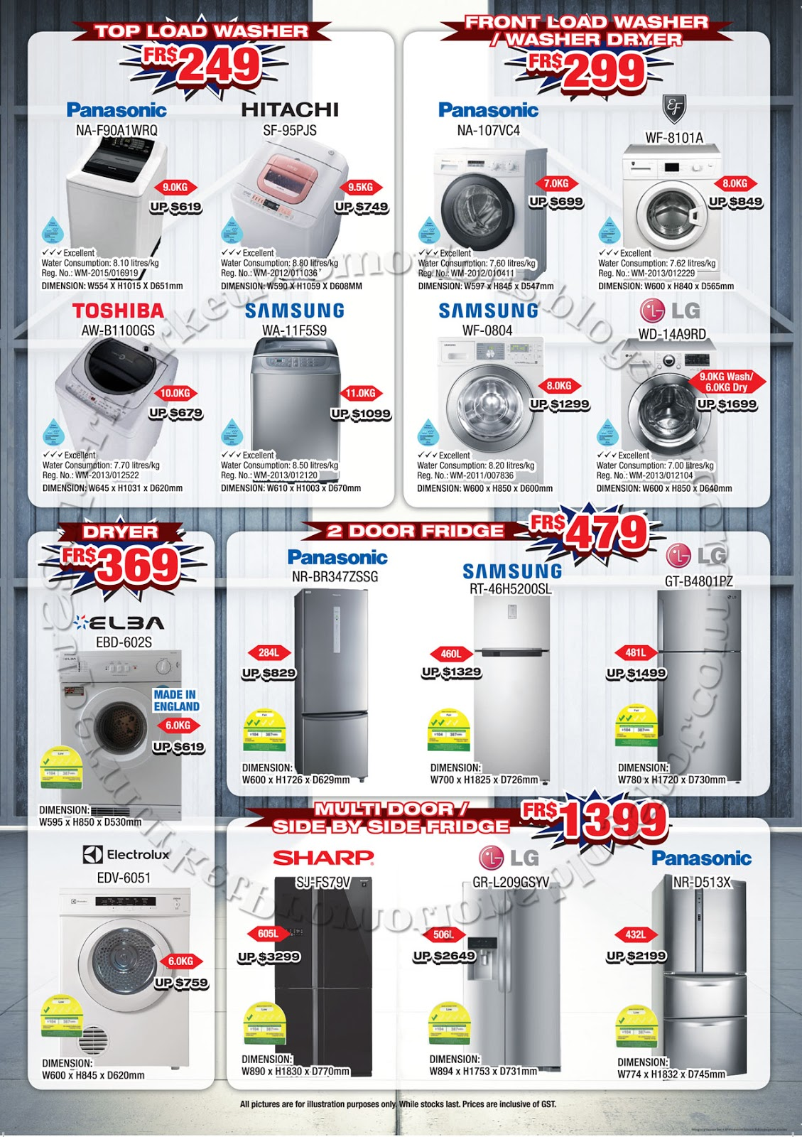 Warehouse Kitchen Appliances Audio House Bendemeer Warehouse Sale 19 December 2015 04 January