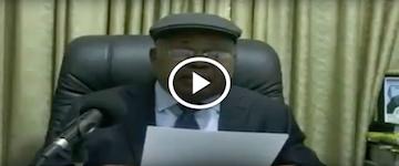 URGENT - Coup de tonnerre: Message de TSHISEKEDI à la nation, KABILA N'EST PLUS PRESIDENT !