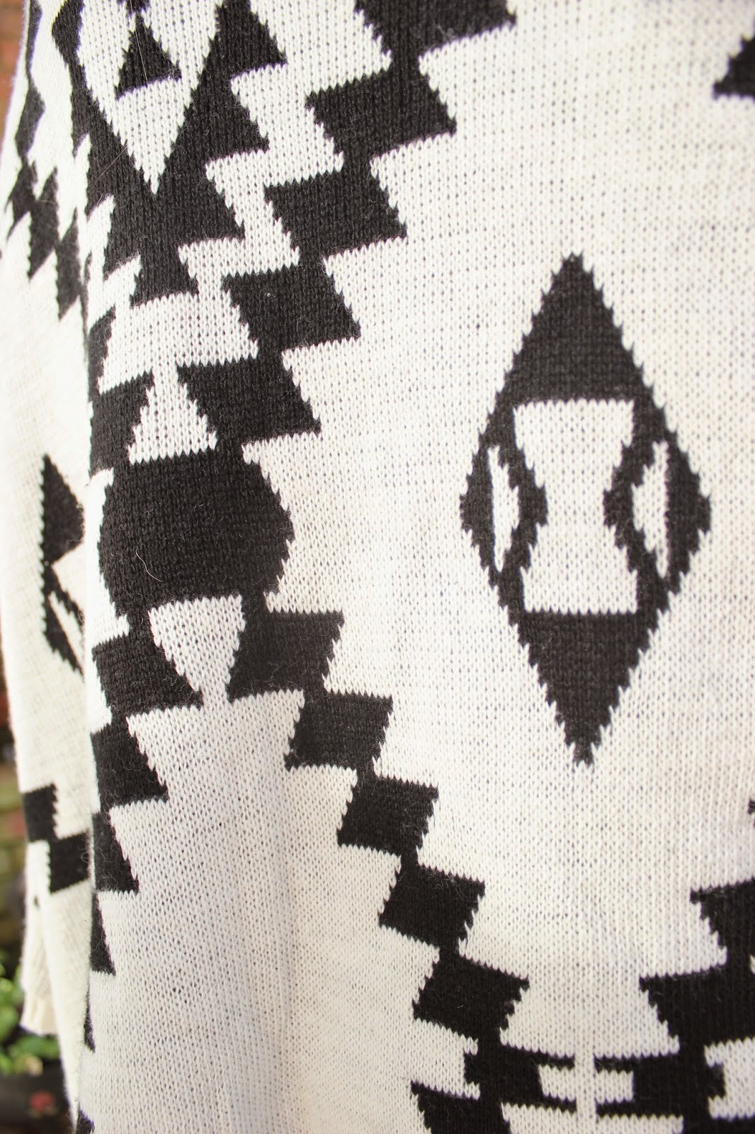 OOTD-blogger-fashion-outfit-inspiration-oasap-cardigan-aztec-print-style-clothes
