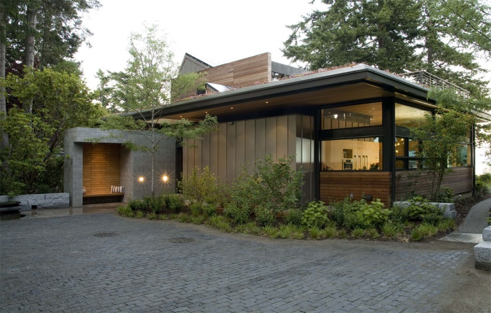 Leed platinum sustainable home washington usa most for Leed cabins