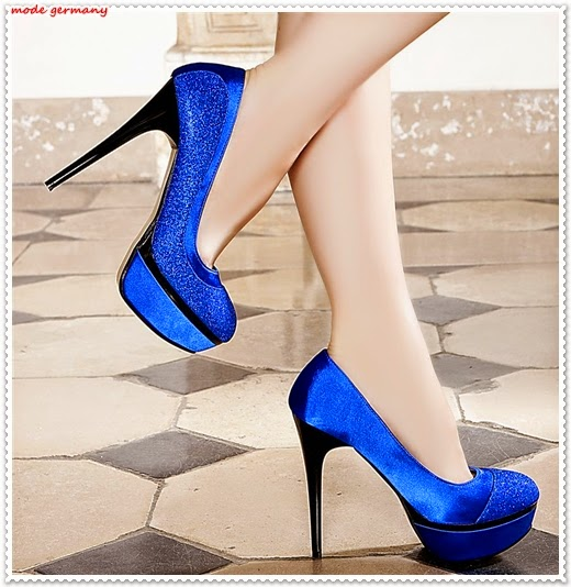Farbige Plateau-Schuhe