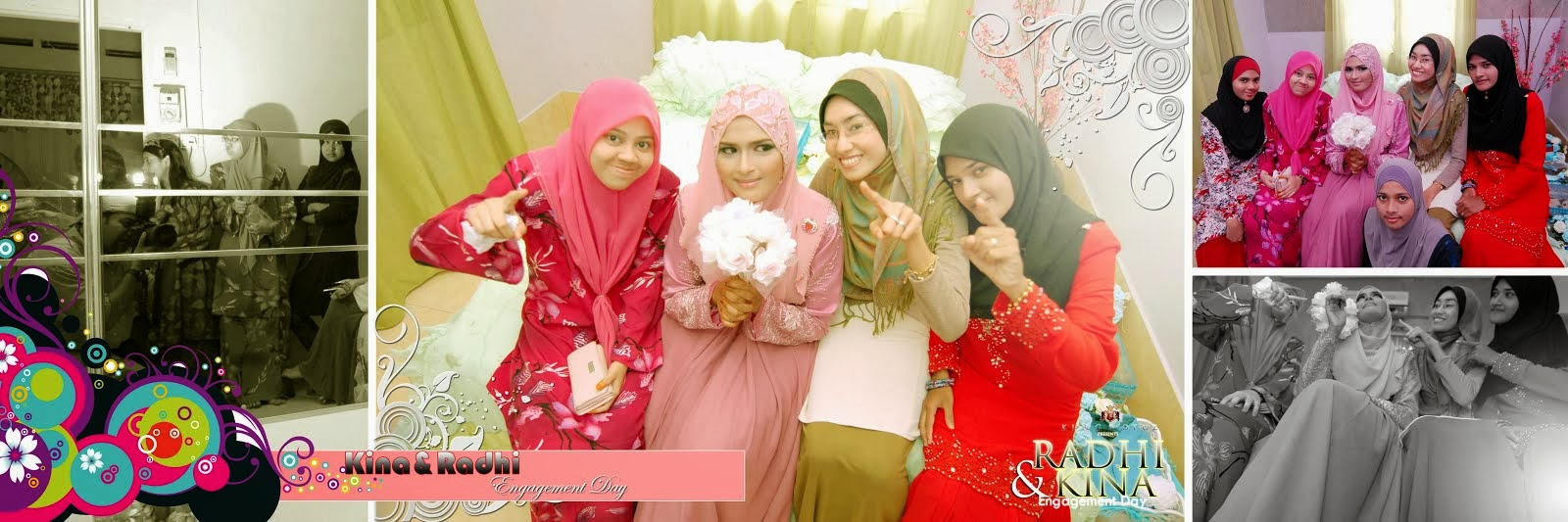 Radhi&Kina Engagement Day
