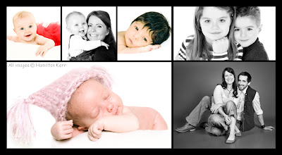 Images of happy families, precious photos, family keepsakes