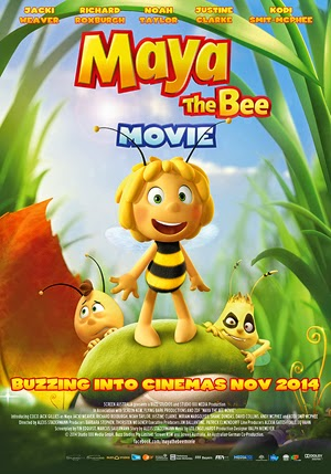 Maya the Bee Movie 2014 poster