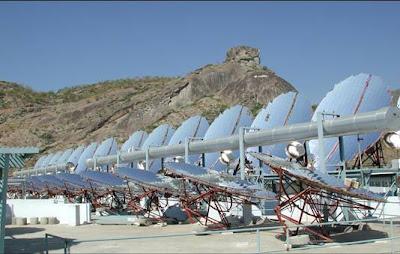 World S Largest Solar Kitchen At Mount Abu