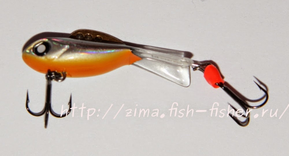 Зимняя рыбалка. Приманка Mebaru